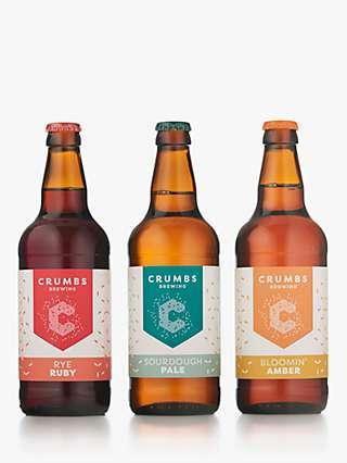 Crumbs Brewing Beer Gift, 3x 500ml