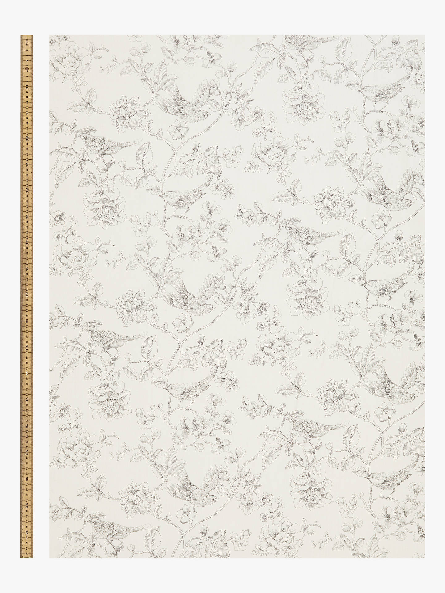 Buy John Lewis & Partners Nightingales Furnishing Fabric, Storm Online at johnlewis.com