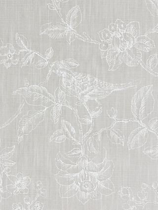 John Lewis & Partners Nightingales Made to Measure Curtains or Roman Blind, Dove