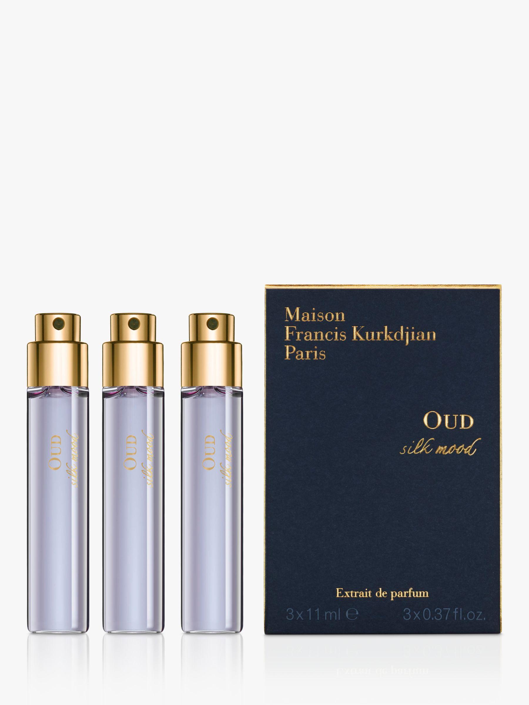 Maison Francis Kurkdjian Maison Francis Kurkdjian Oud Silk Mood Extrait de Parfum Natural Spray Refills, 3 x 11ml