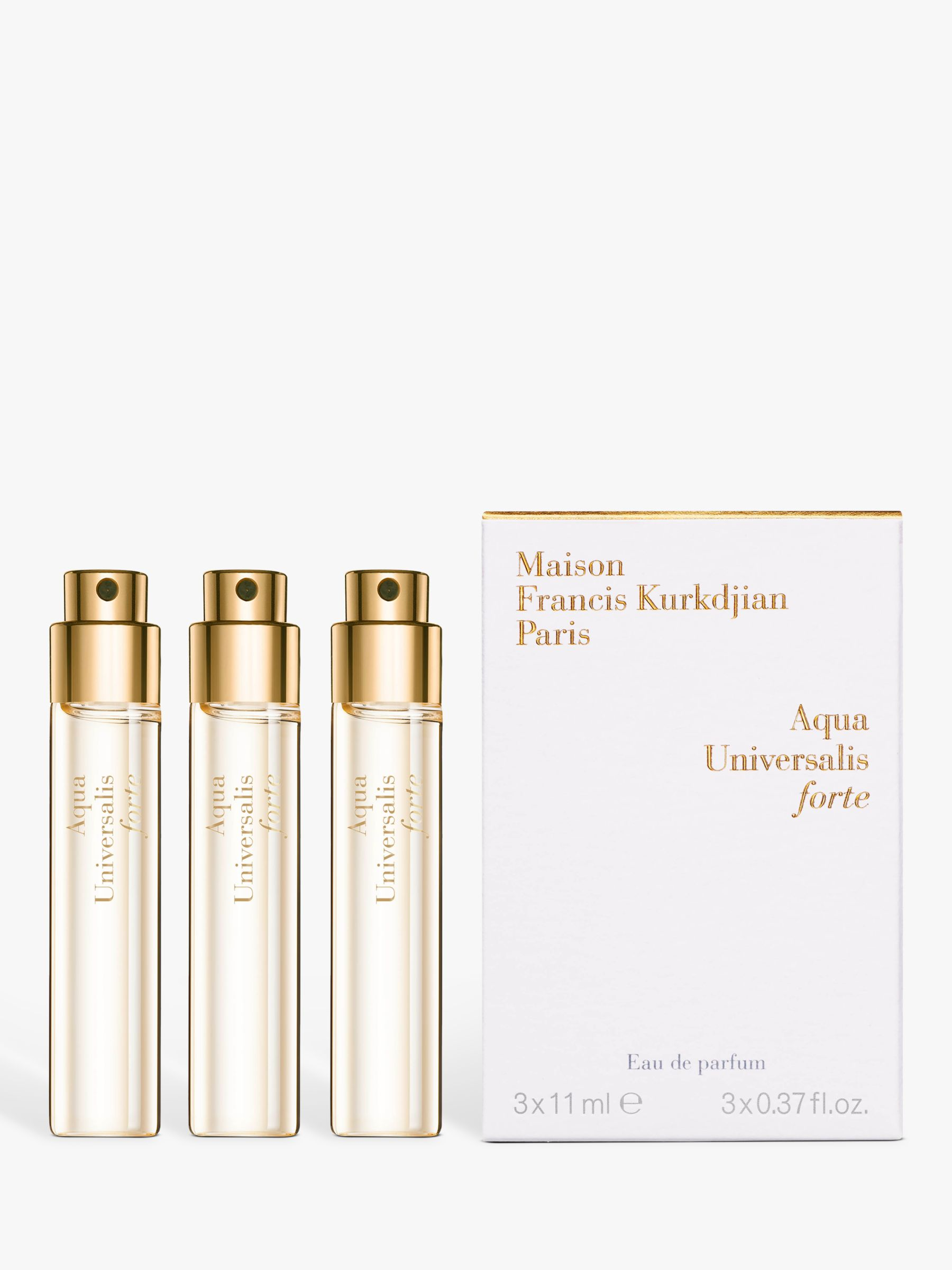 Maison Francis Kurkdjian Maison Francis Kurkdjian Aqua Universalis Forte Eau de Parfum Natural Spray Refills 3 x 11ml