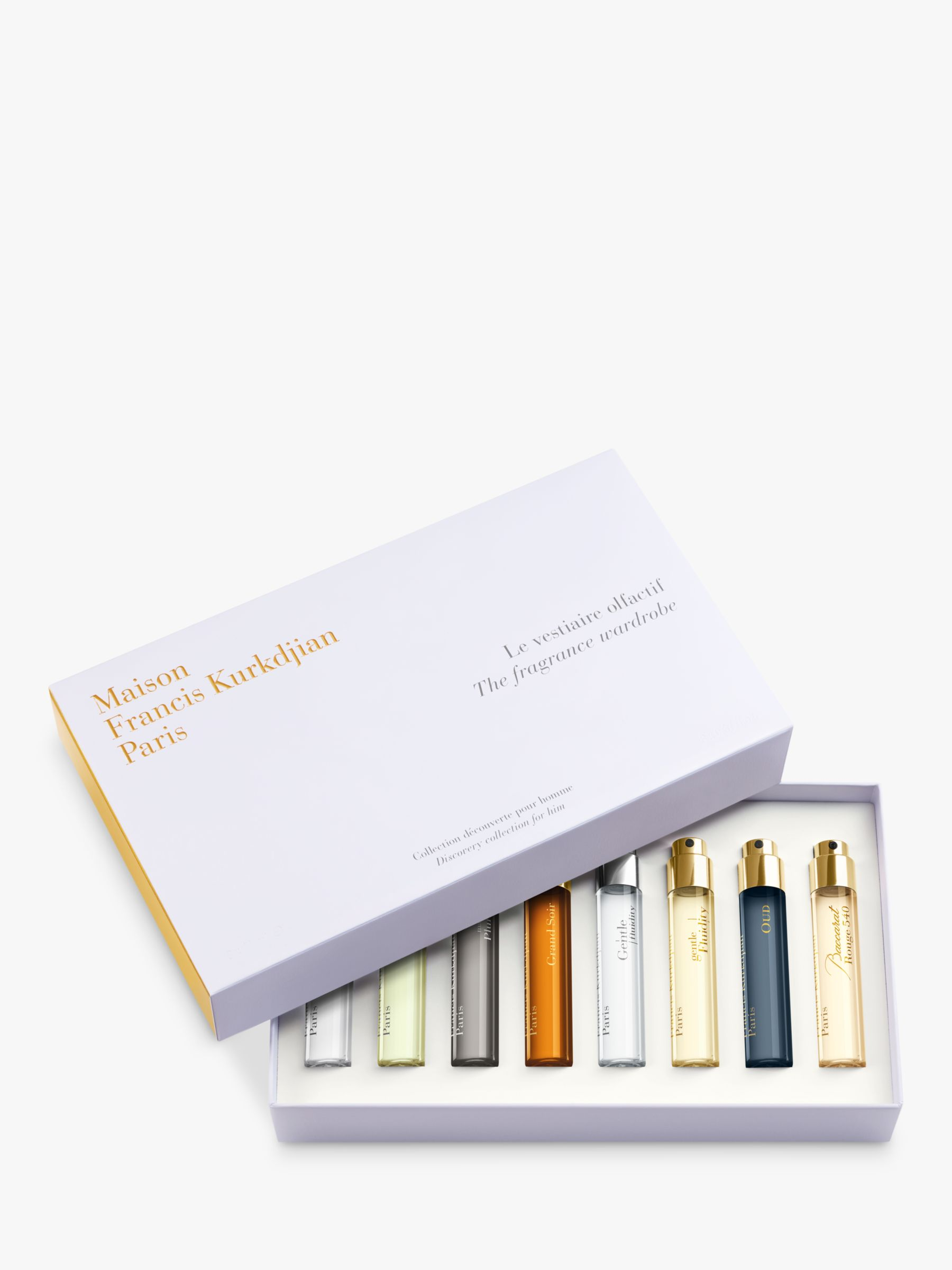 Maison Francis Kurkdjian Maison Francis Kurkdjian The Fragrance Wardrobe Discovery Collection for Him Fragrance Gift Set