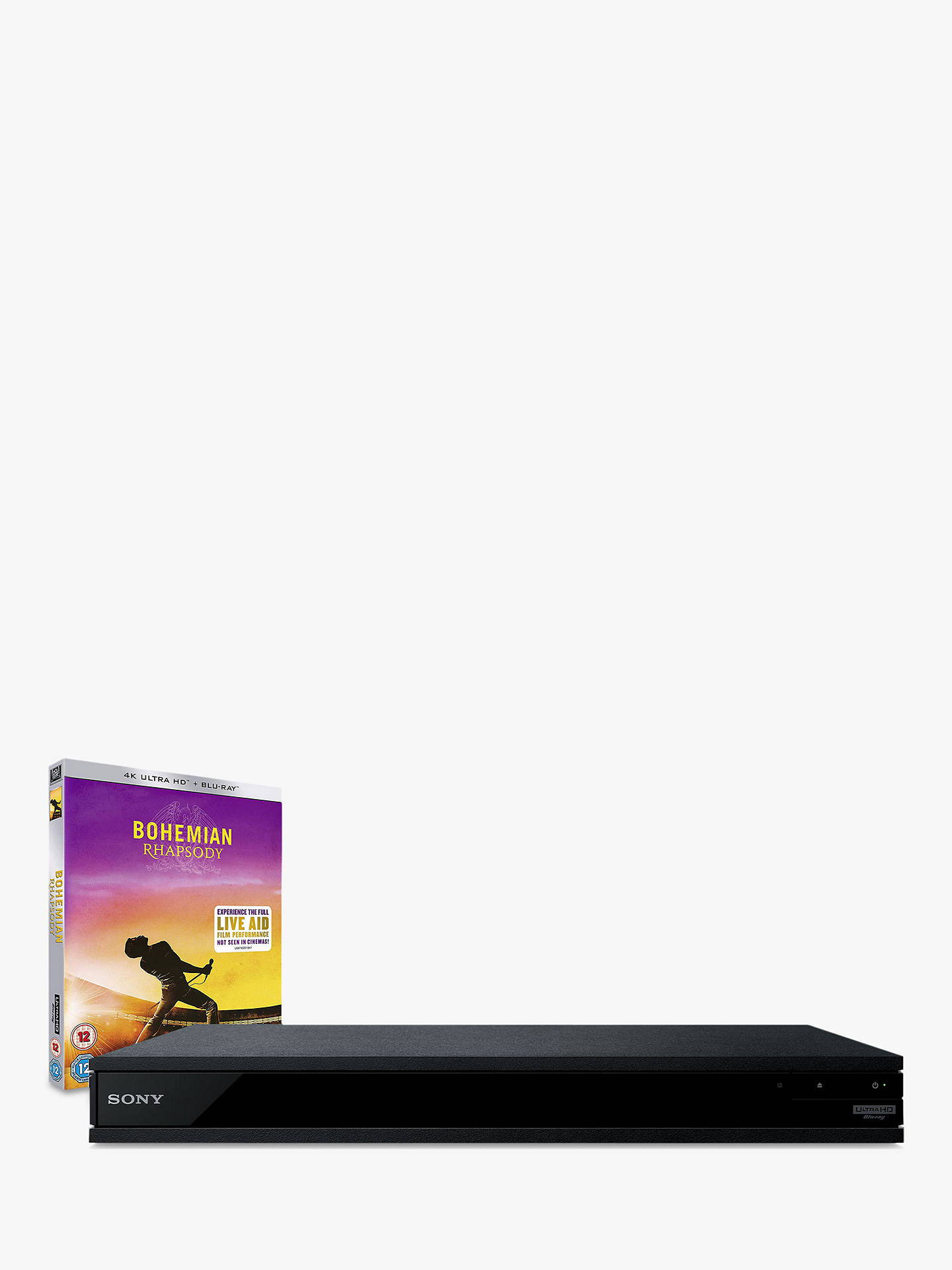 Sony UBP-X800M2 Smart 3D 4K UHD HDR Upscaling Blu-Ray/DVD Player with High  Resolution Audio
