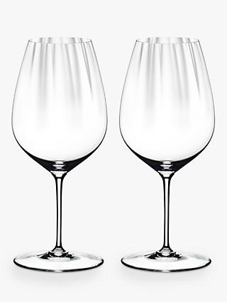 Riedel Performance Cabernet Red Wine Glass, Set of 2, 834ml, Clear