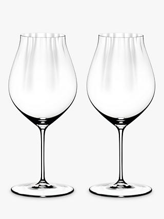 Riedel Performance Pinot Noir Red Wine Glass, Set of 2, 830ml, Clear