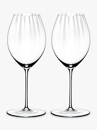 Riedel Performance Shiraz Red Wine Glass, Set of 2, 631ml, Clear