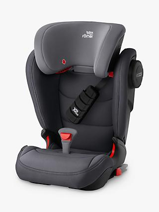 Britax Römer KIDFIX III S Group 2/3 Car Seat, Storm Grey