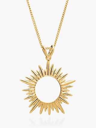 Rachel Jackson London Medium Sunray Pendant Necklace