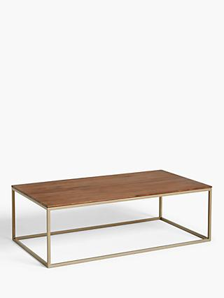 John Lewis & Partners Raise Coffee Table, Walnut