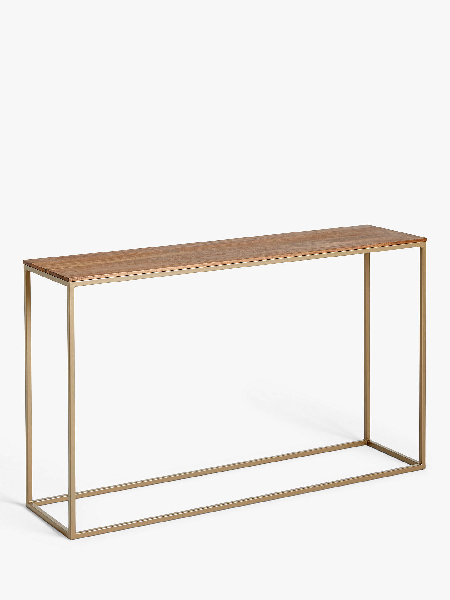 John Lewis Partners Raise Console Table Walnut At John Lewis Partners