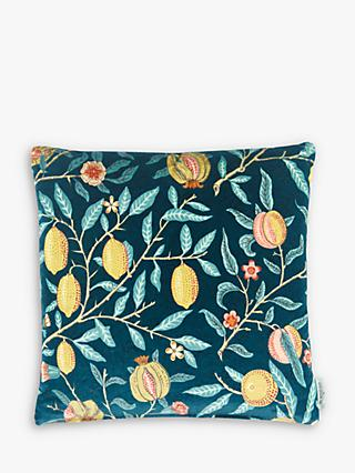 Morris & Co. Velvet Fruit Cushion