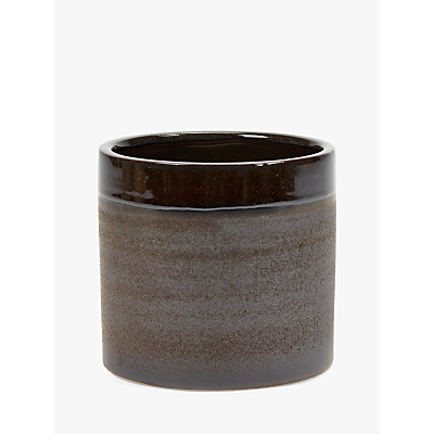 Serax Glaze Pot, Brown, Large