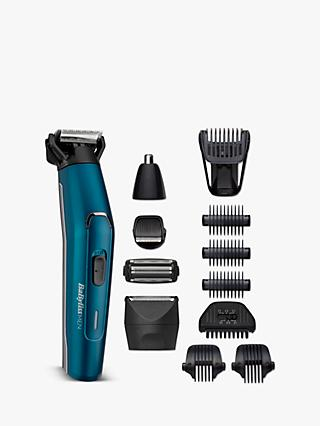 BabylissMEN 7861U 12-in-1 Japan Steel Multi Trimmer, Blue