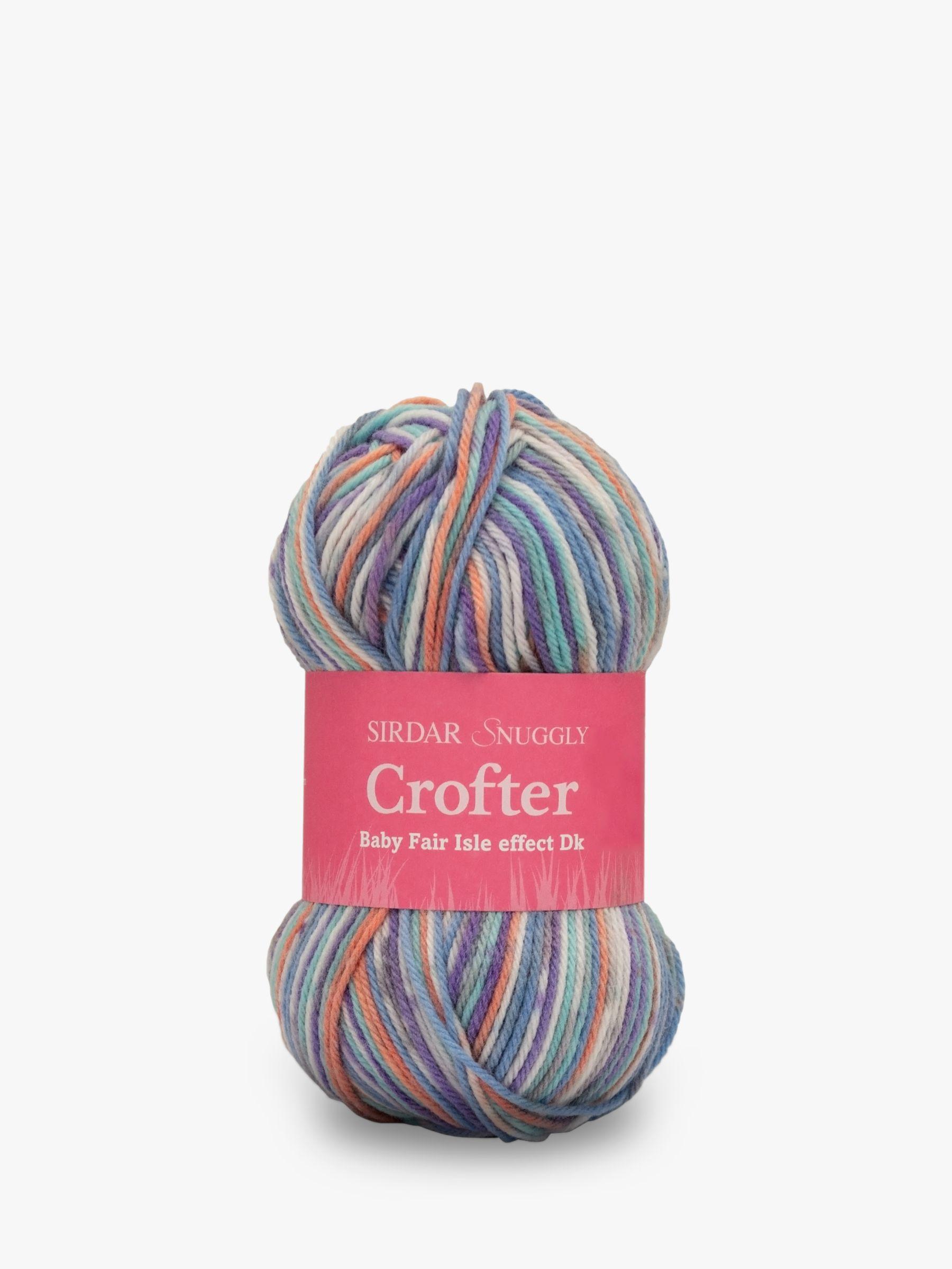 Sirdar Sirdar Baby Fair Isle Effect Crofter DK Yarn, 50g