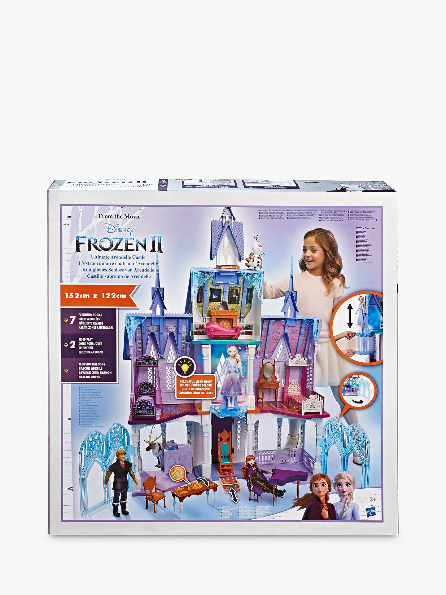Buy Disney Frozen II Arendelle Castle Doll House Online at johnlewis.com