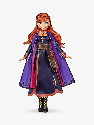 Disney Frozen II Singing Princess Anna Doll