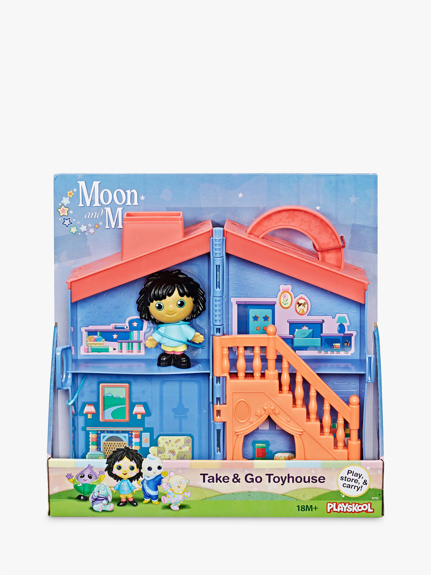 Moon and Me On The Go Toyhouse