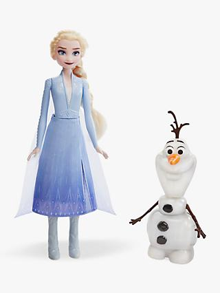 Disney Frozen II Queen Elsa & Olaf Talking Dolls