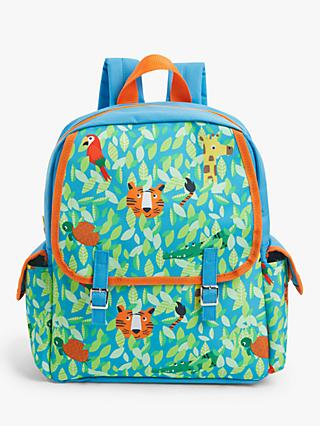 John Lewis & Partners Jungle Friends Children's Backpack