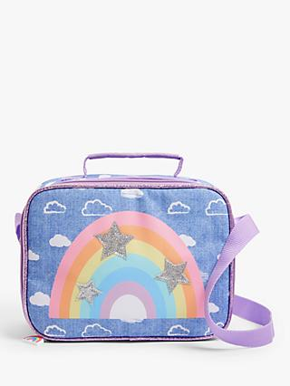 John Lewis & Partners Children's Rainbow Stars Lunch Bag