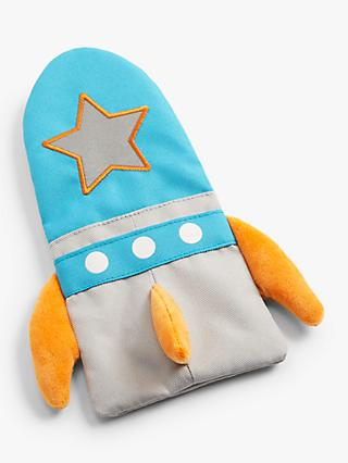 John Lewis & Partners Children's Rocket Pencil Case