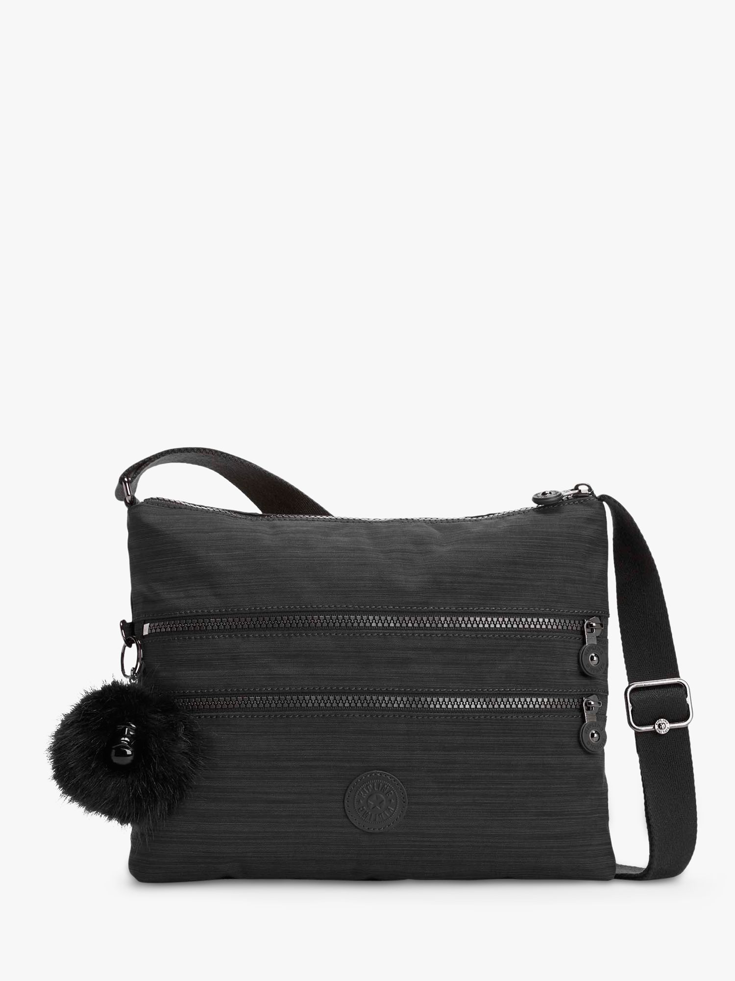 Kipling Kipling Alvar Medium Cross Body Shoulder Bag, True Dazz Black