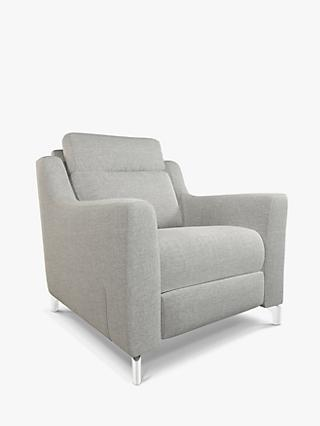John Lewis & Partners Elevate Armchair, Metal Leg, Connie Grey