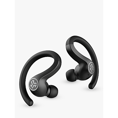 Image of JLab Audio Air Sport True Wireless Bluetooth Sweat & Weather-Resistant In-Ear Headphones with Mic/Remote, Black