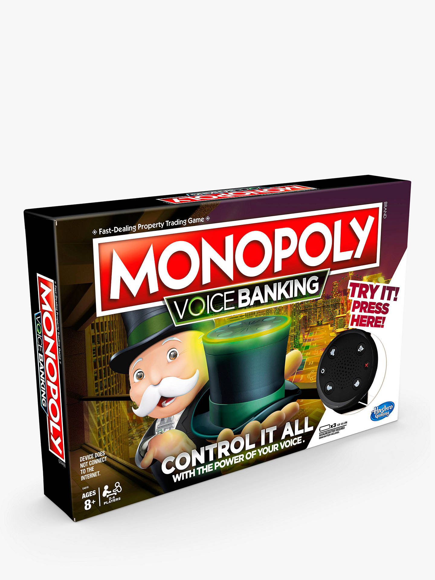 Buy Monopoly: Voice Banking Edition Online at johnlewis.com