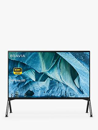 "Sony Bravia KD98ZG9 (2019) LED HDR 8K Ultra HD Smart Android TV, 98"" with Freeview HD & Youview, Black"