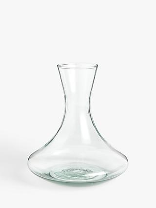 Croft Collection Recycled Glass Decanter, 1.6L, Clear
