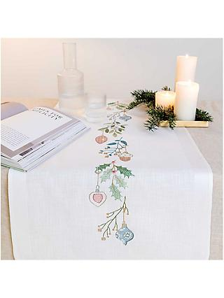 Rico Design Christmas Wreath Table Runner Sewing Kit