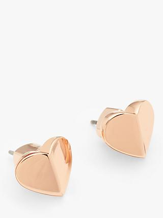 kate spade new york Heritage Spade Heart Stud Earrings