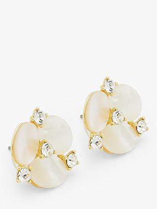 kate spade new york Large Pansy Stud Earrings, Gold