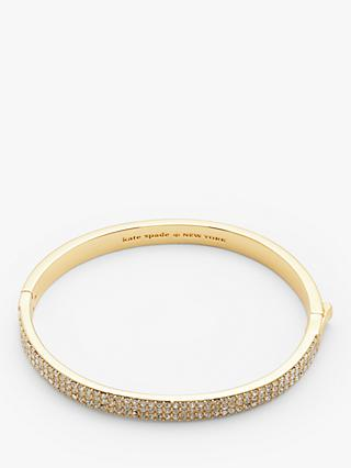 kate spade new york Cubic Zirconia Clasp Bangle