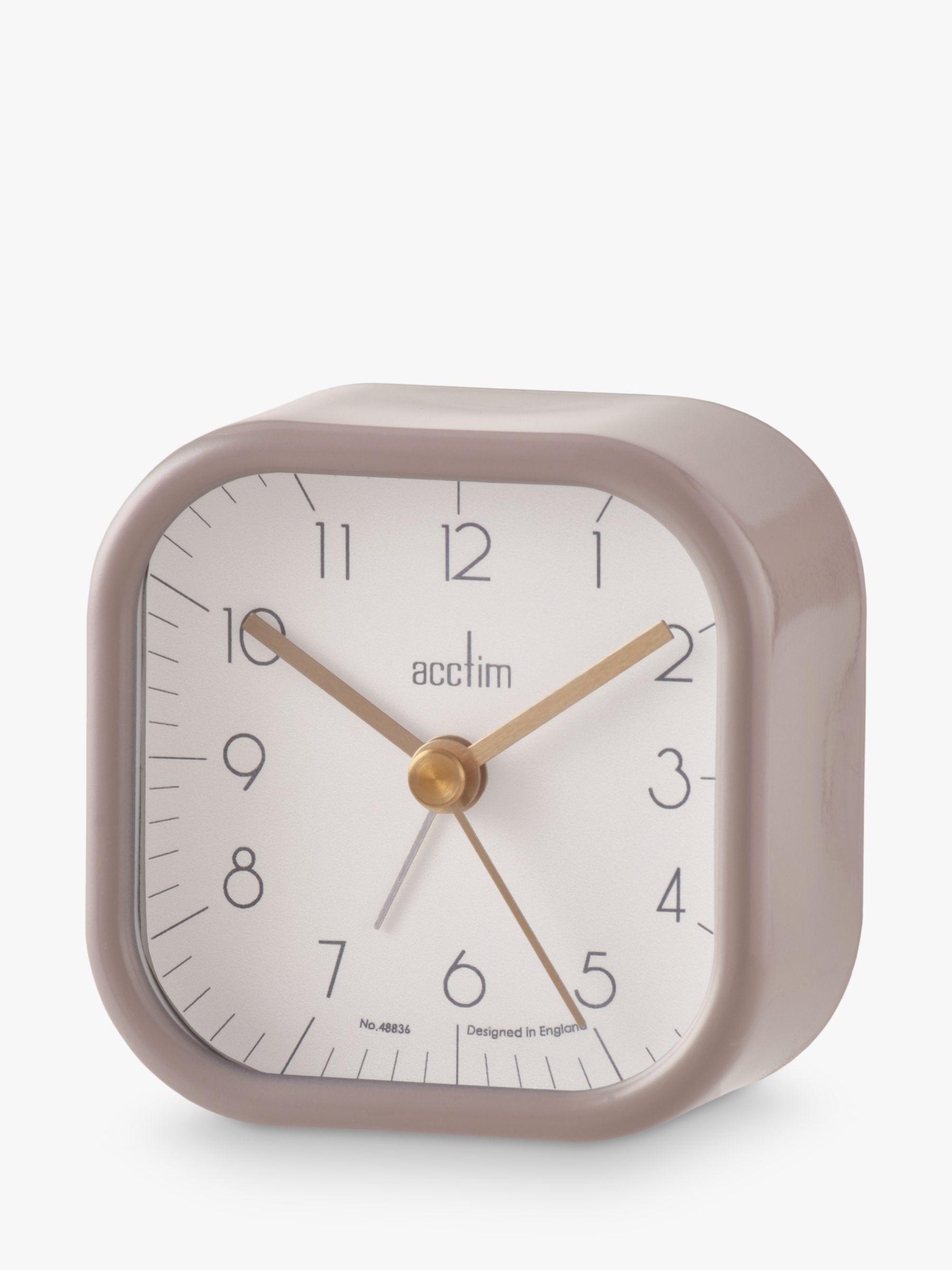 Acctim Acctim Zak Analogue Alarm Clock, 7cm