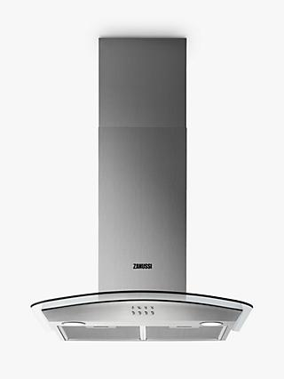 Zanussi ZHC62352X Chimney Cooker Hood, C Energy Rating, Stainless Steel