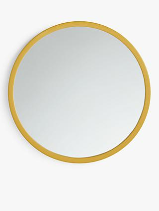 House by John Lewis Round Edge Mirror, 55cm