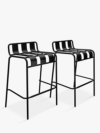 John Lewis & Partners Garden Bar Stools, Set of 2