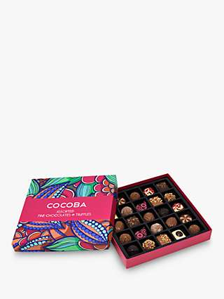 Cocoba 25 Assorted Chocolate and Truffle Gift Box, 350g