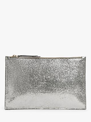 Neuville Ceremony Leather Clutch Bag