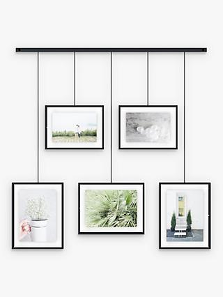 Umbra Exhibit Multi Hanging Photo Frame Display, 5 Photo