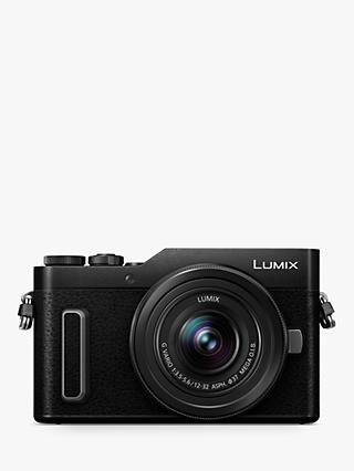 "Panasonic Lumix DC-GX880 Compact System Camera with 12-32mm Interchangeable Lens, 4K Ultra HD, 16MP, 4x Digital Zoom, Wi-Fi, 3"" Tiltable LCD Touch Screen"