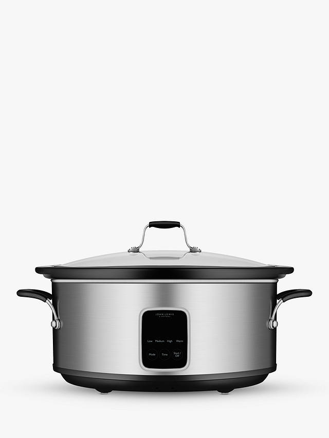 Buy John Lewis & Partners JLSC458 Slow Cooker, 6L Online at johnlewis.com