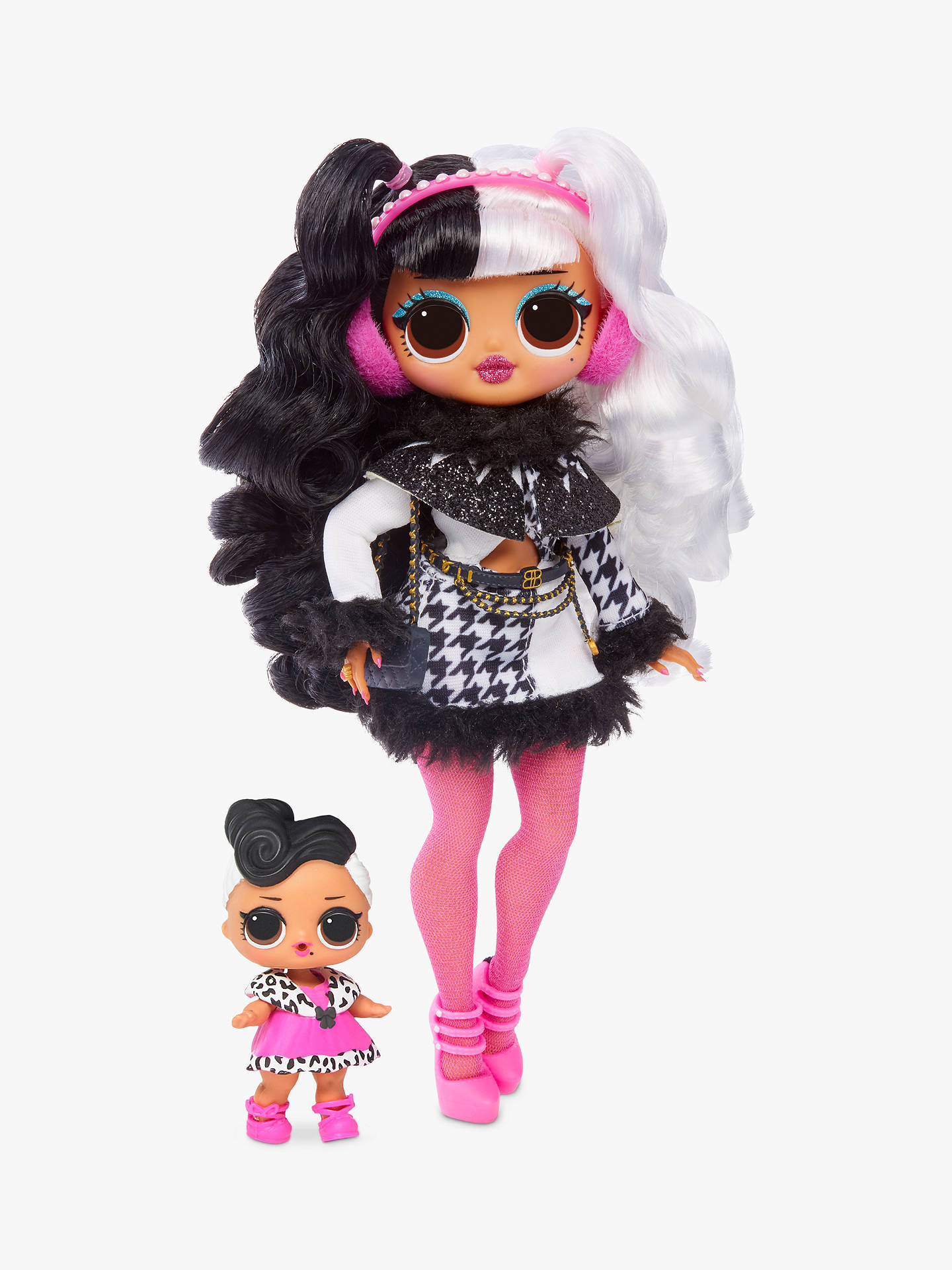 L O L Surprise Dollie Dollface Winter Disco Series Fashion Doll