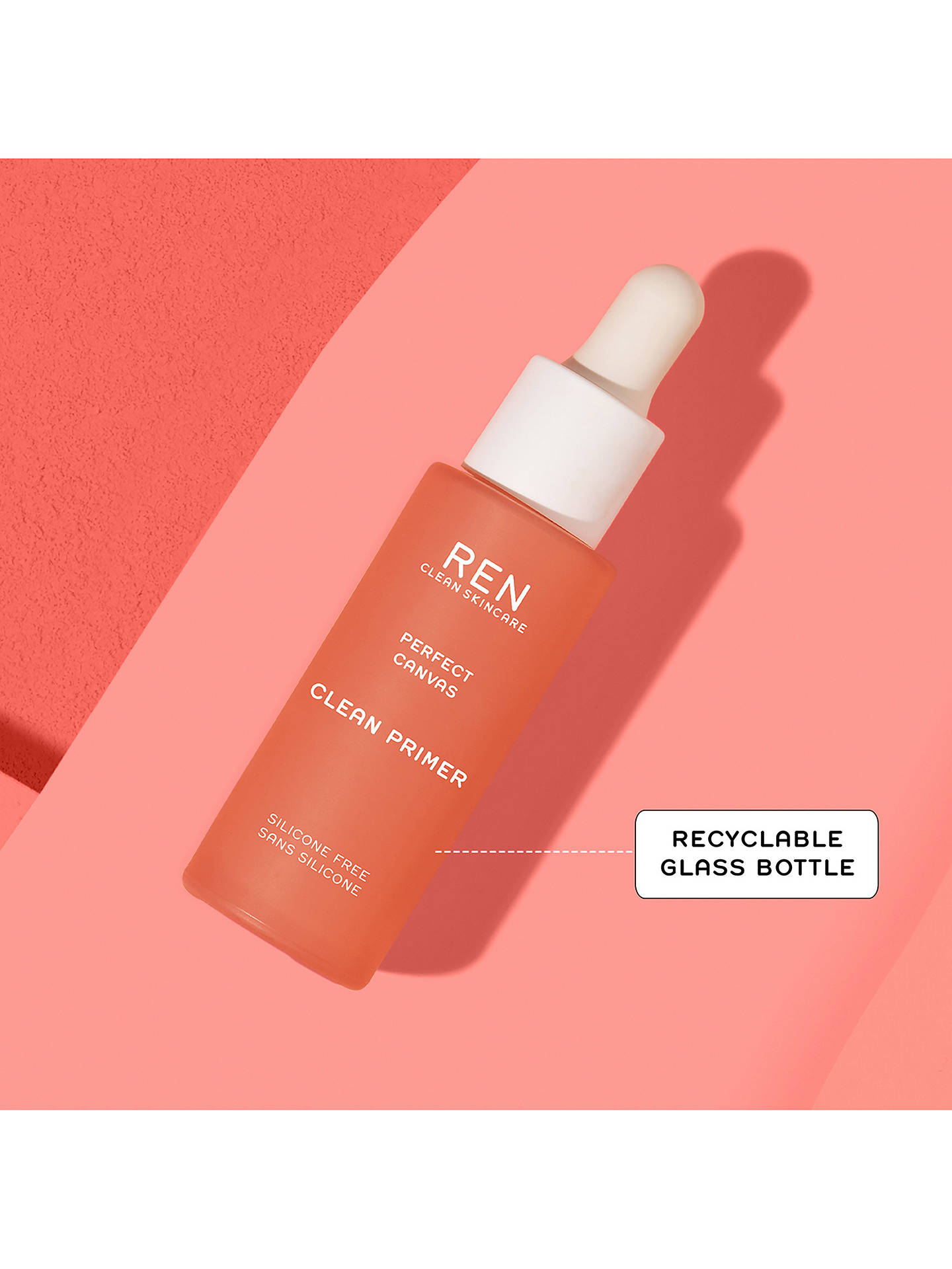 Buy REN Clean Skincare Perfect Canvas Clean Primer, 30ml Online at johnlewis.com