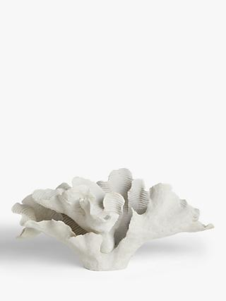 John Lewis & Partners Coral Sculpture, H26cm, White