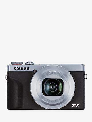 "Canon PowerShot G7 X Mark III Digital Camera, 4K Ultra HD, 20.1MP, 4.2x Optical Zoom, Wi-Fi, Bluetooth, 3"" Tilting Touch Screen"