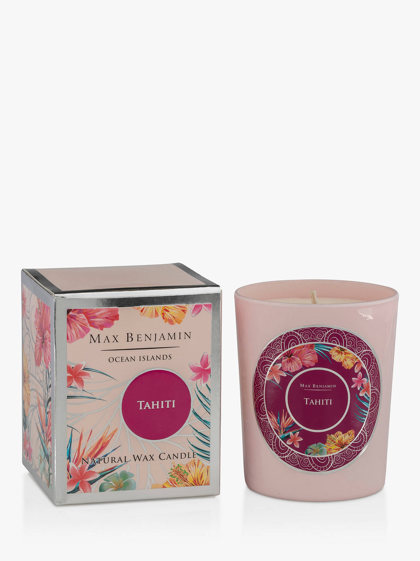 Max Benjamin Ocean Islands Tahiti Scented Candle, 452g by Max Benjamin
