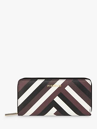 Fiorelli City Zip Around Purse, Chevron